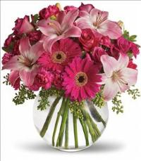A Little Pink Me Up Bouquet by The Foliage Shoppe