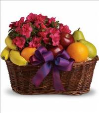 Fruits and Blooms Basket by The Foliage Shoppe