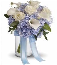 Love in Blue Bouquet by The Foliage Shoppe