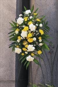 Yellow & White Spray by The Foliage Shoppe