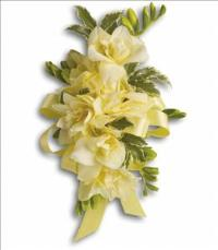 Let Love Shine Corsage by The Foliage Shoppe