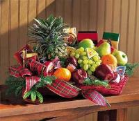 Fruit & Gourmet Basket by The Foliage Shoppe
