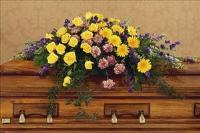 Eternal Hope Casket Spray by The Foliage Shoppe