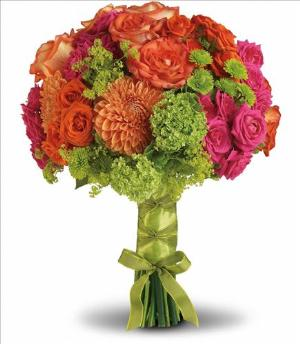 Bright Love Bouquet by The Foliage Shoppe