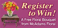Register to Win a Free Floral Bouquet!